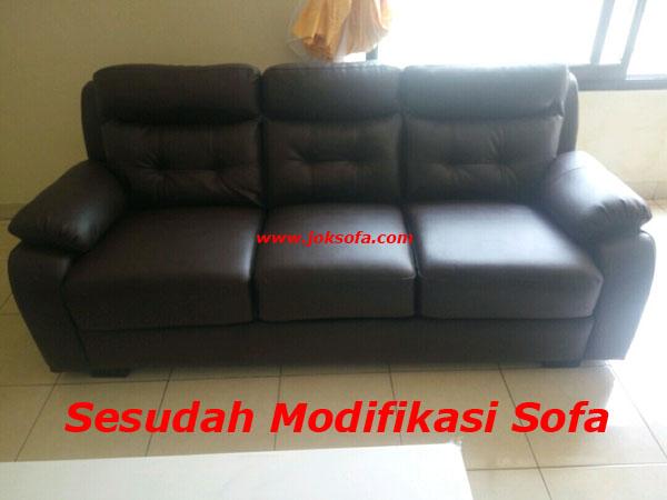 Sesudah jasa modifikasi sofa