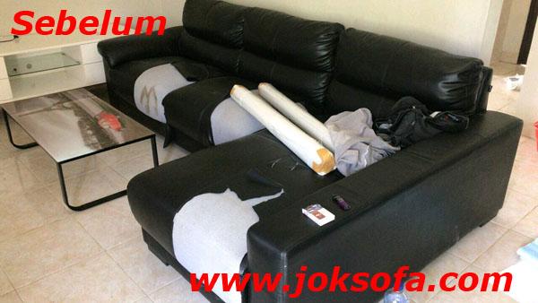 sebelum ganti kulit sofa